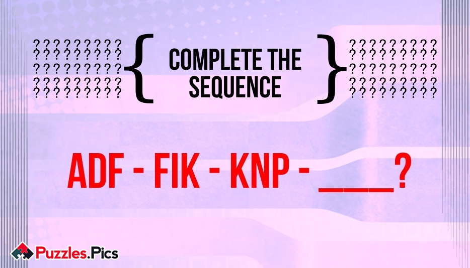 Can You Complete The Sequence?