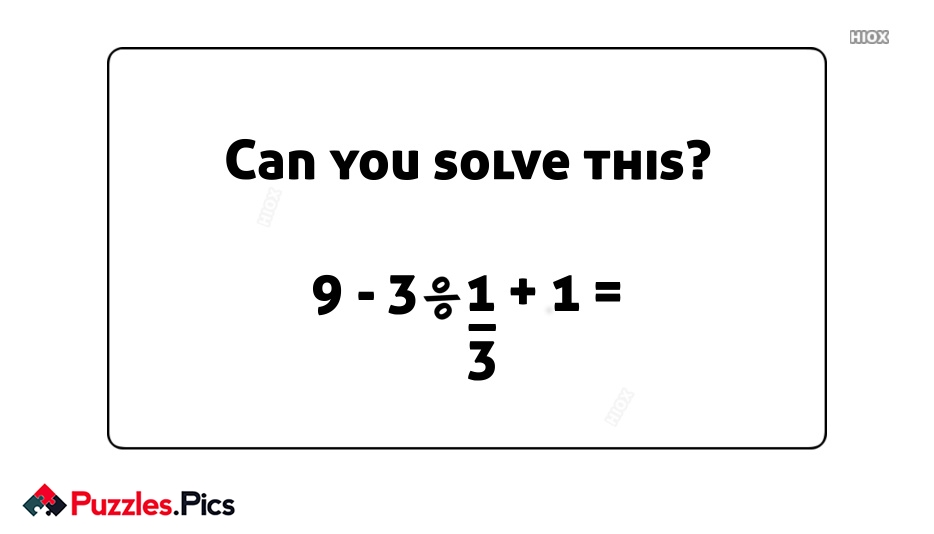 Can You Solve This Puzzles Images