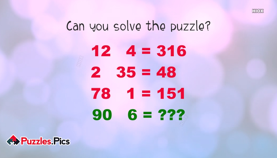 Can You Solve This Math Puzzle?