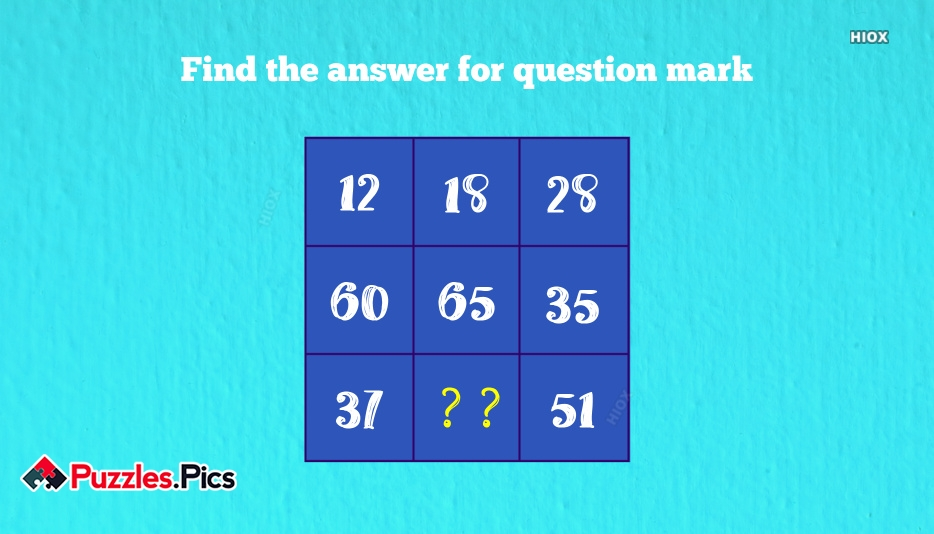 Which Number Replace The Quest Puzzles and Riddles With Answers
