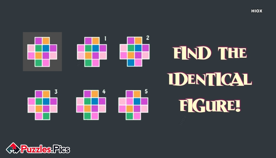 Find The Identical Figure?