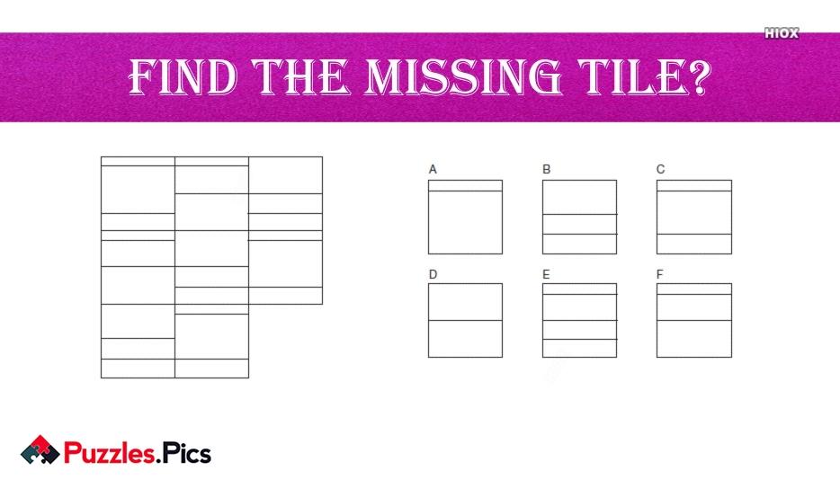 Find The Missing Tile?