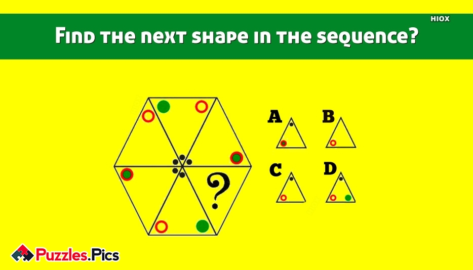 Find The Next Shape In The Sequence?