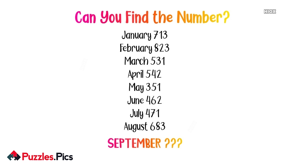 Can You Find The Number?