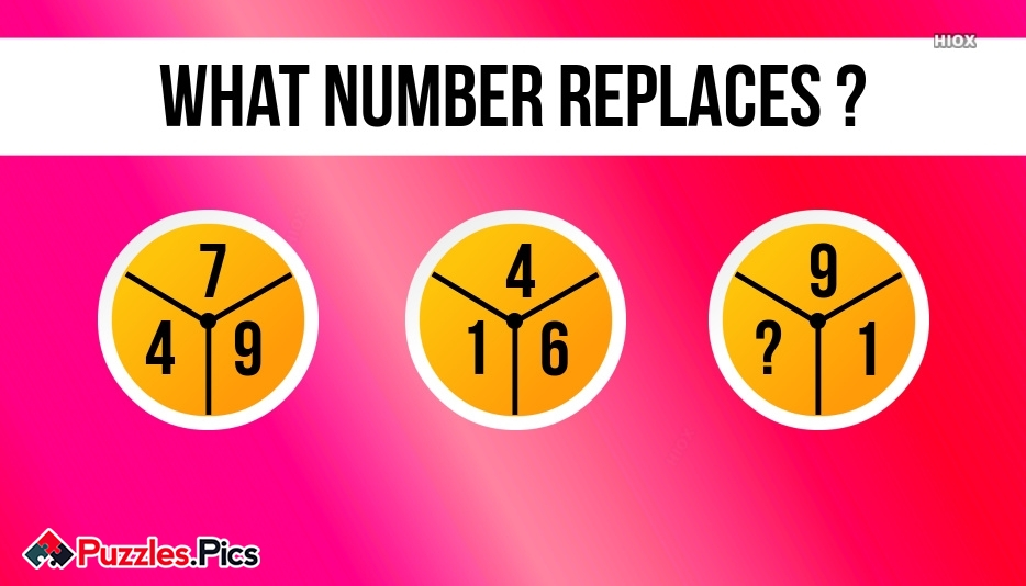 Find Number Which Replaces Question Mark