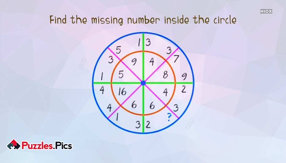 Find The Missing Number Puzzles