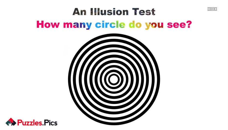 How Many Circles Puzzles and Riddles With Answers