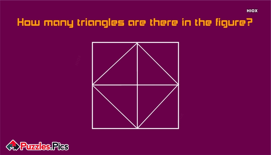 How Many Triangles Are There In The Figure?