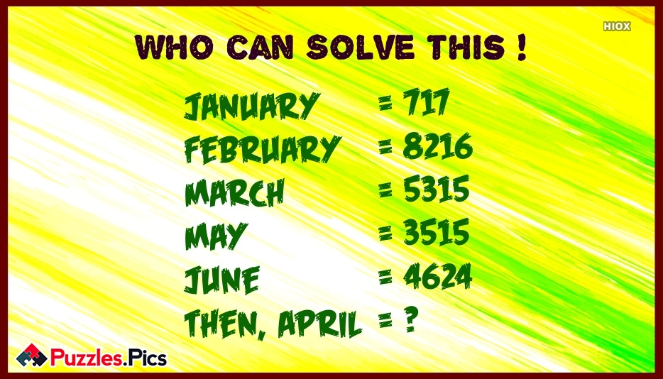 Logic Maths Brain Teaser For Teens