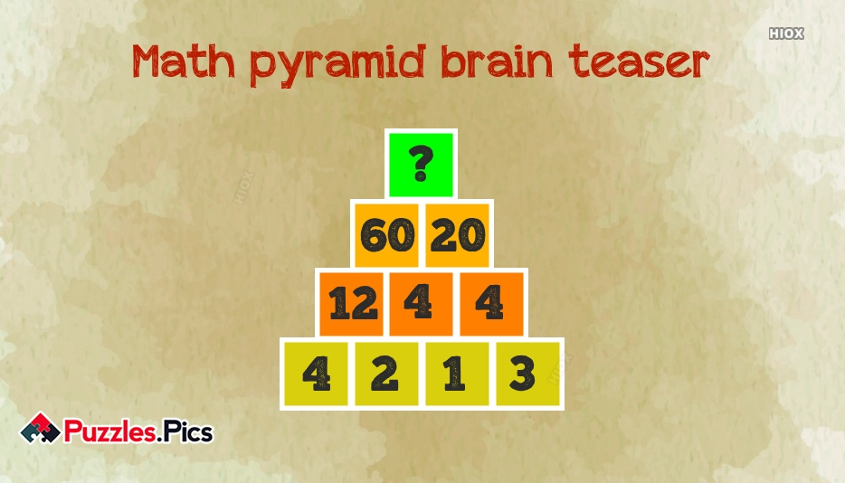 Brain Teaser Puzzles Images