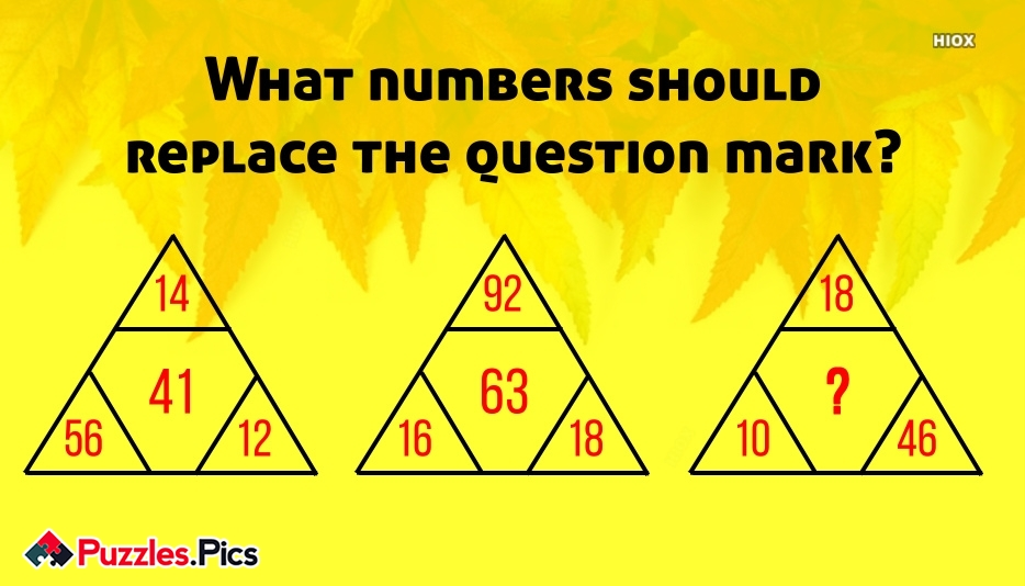 What Number Will Replace Question Mark