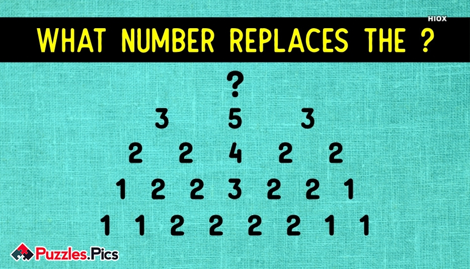 What Number Replaces The Question Mark?
