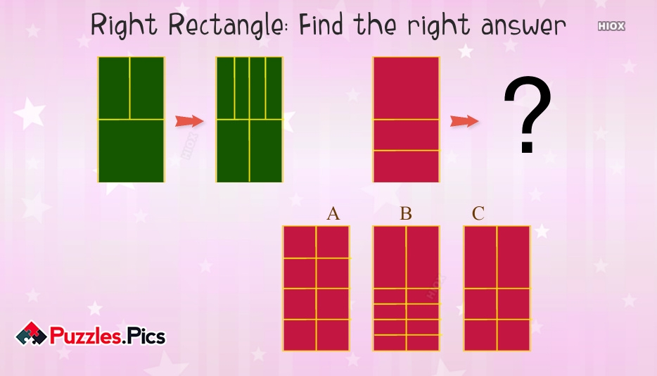 Right Rectangle: Find The Right Answer