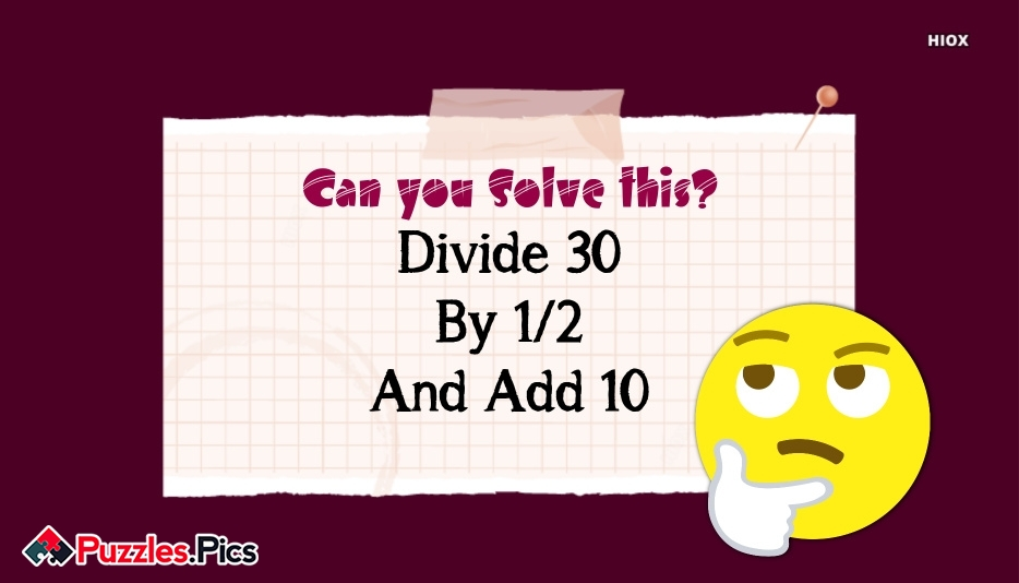 Simple Maths Number Puzzles