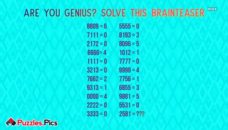 Brainteaser Puzzles and Riddles With Answers