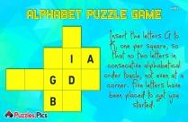 Alphabet Puzzle Game