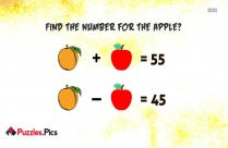 Find The Number Behind The Question Mark