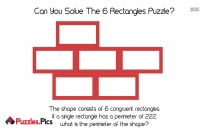 Can You Solve The 6 Rectangles Puzzle