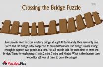 Crossing The Bridge Puzzle Game