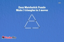 Matchstick Dog Puzzle - Make The Dog Look In Opposite Direction Just By Moving 2