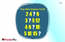 Easy Math Sequence Puzzle