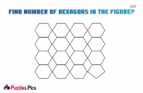 Find Number Of Hexagons In The Figure?