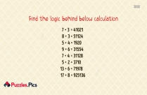 Find The Logic Behind Below Calculation