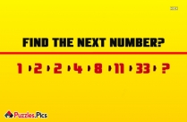Find The Number Missing?