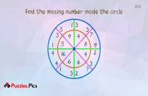 Fun With Numbers: Find The Missing Number Inside The Circle?