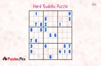 Hard Sudoku Puzzle With Solution