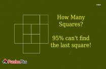 How Many Squares? 95% Can