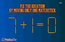 Matchstick Puzzle