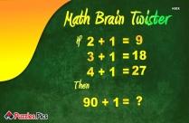 Math Brain Twister