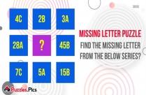 Find The Missing Letter