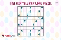 Sudoku Puzzle Hard Printable