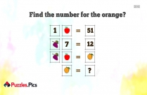 Whatsapp Number Puzzles With Answers Find The Number For The Orange
