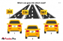 Which Car Goes Puzzles