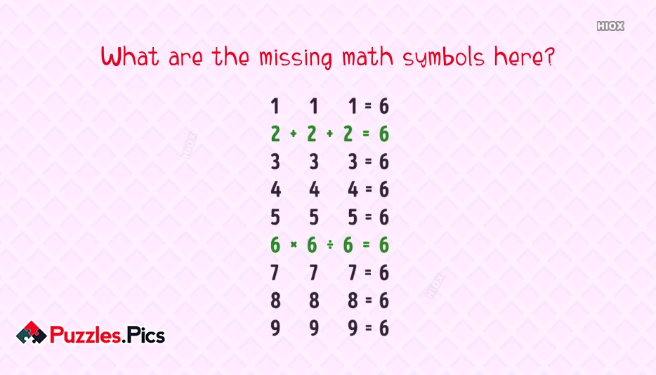 What Are The Missing Math Symbols Here?