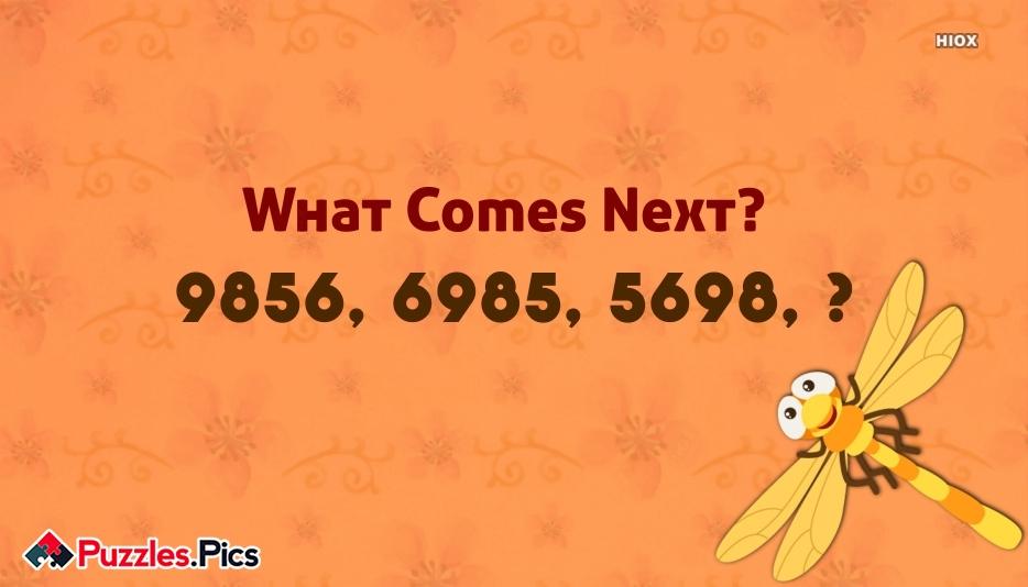 What Comes Next Puzzles