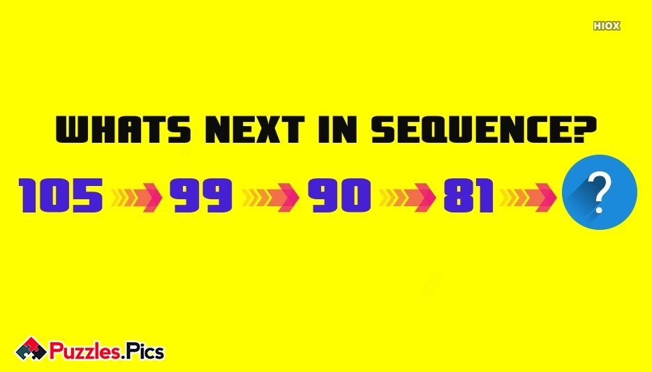 WHATS NEXT IN SEQUENCE?