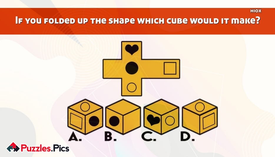 Cube Puzzles and Riddles With Answers