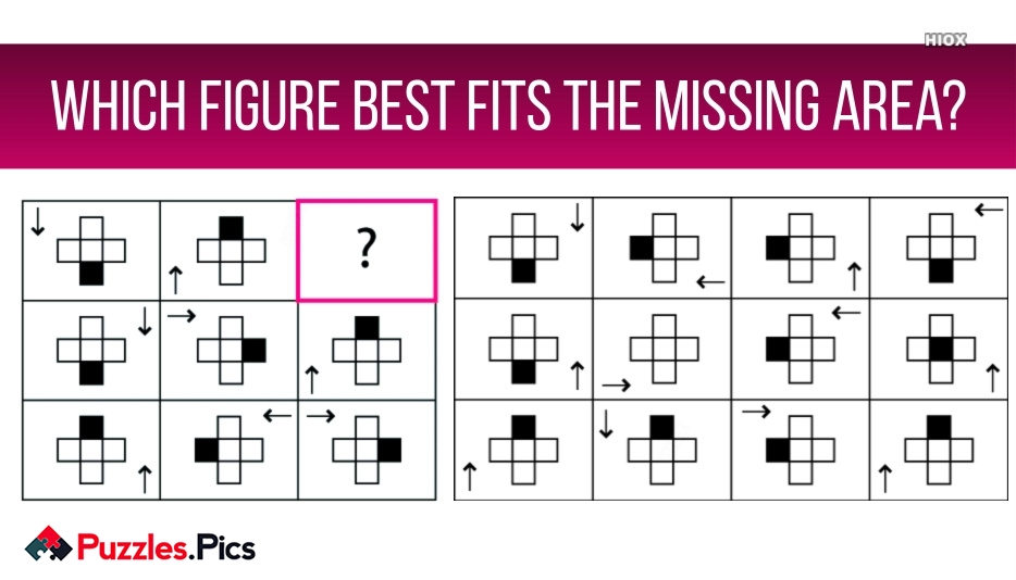 Which Figure Best Fits The Missing Area?