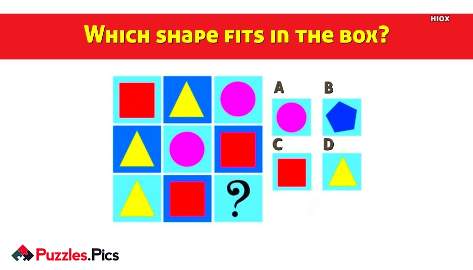 Which Shape Fits In The Box?